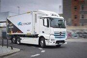 메르세데스-벤츠 대형 순수 전기 트럭 e악트로스, 1년 간 유럽서 성공적 시범 운영
