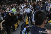 홍콩시위 다시 불붙나…민주파 의원 압승 뒤 첫 대규모 집회
