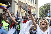 악기가 무기? 콜롬비아 반정부 시위