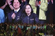 """대만 총통 선거 하루 앞…차이잉원 """"홍콩이 지켜본다!"""""""