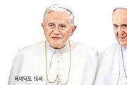 前-現 교황 '사제독신제 갈등설' 진화한 베네딕토