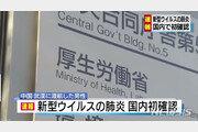 일본에서도 중국발 폐렴 첫 확인…일본 거주 30대 중국인 남성