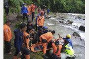인도네시아 수마트라서 보행교 끊겨 7명 사망…3명 실종