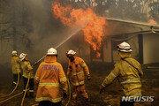 호주 캔버라 공항, 산불로 일시폐쇄…소방항공기 추락에 3명 사망