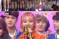 [DA:리뷰] '쇼챔피언' 트와이스 1위…빅스 컴백 (종합)