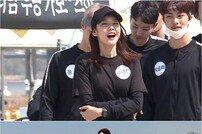 '나혼자산다' 한혜진, 모랫바닥 위 모델워킹… 도도한 표정
