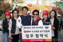 SK와이번스, '와이번스 인천 Family' 업무 제휴 협약 체결