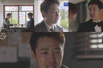 [TV북마크] '손 꼭 잡고' 윤상현, 소리 없는 오열이 더 슬프다