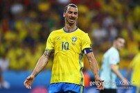 스웨덴 축구협회, 즐라탄 2018 러시아 월드컵 불참 확정 발표