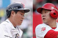 [베이스볼 브레이크] 전례 없는 4할 전쟁…안치홍·양의지는 이미 역사다