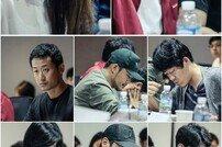 [DA:클립] 이진욱-이하나 참석 '보이스2' 대본리딩…긴장감 UP