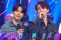 [DA:리뷰] '인기가요' 방탄소년단, 12관왕 질주…워너원 컴백 (종합)