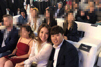 "[DAY컷] ""꿀 떨어지는 신혼""…류현진♥배지현, 다저스 행사 참석"