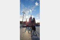 월드컵 개막, 이미 모스크바 붉은광장은 후끈