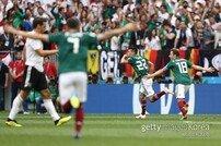 잘 준비된 멕시코, 독일 꺾고 F조 1위 '한국 지옥문 열렸다'