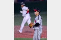 [포토] 임찬규, 홈런으로 동점 허용