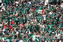 '응원단 욕설 노래' 멕시코, FIFA로부터 벌금 1000만원 징계