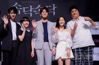 [포토] 영화 '속닥속닥'을 이끄는 젊은 신인 배우들