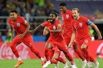신흥강호 크로아티아에 강했던 축구종가 잉글랜드
