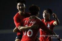 한국 U-23 대표팀, 키르기스스탄전 '붉은색 유니폼' 착용