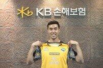 KB손해보험 스타즈, '1년 공백' 센터 김형우 영입