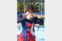 [아시안게임] 사격 강지은, 여자 트랩 결선에서 은메달 획득