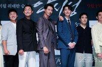 [포토] 안시성 '믿고 보는 남자 배우들의 만남'