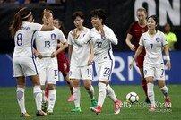 [아시안게임] 한국 여자 축구, 인도네시아에 전반 3분 PK 선제골