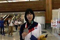[아시안게임] 태권도 이아름, 여자 -57kg 급 은메달 'AG 2연패 달성 무산'