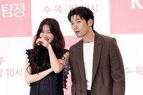 [동아포토]이지아·최다니엘 '시크함 깨버린 얼빠진 연기'