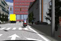 현대모비스, 3D게임 기술 활용 가상환경에서 자율주행 테스트