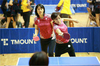 한·중·일 스포츠 교류의 장…전국 어머니·어린이 탁구대회 개최