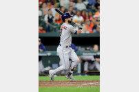 [ALCS 2] 마윈 곤잘레스 역전 투런포, 휴스턴 PS 14경기 연속 홈런