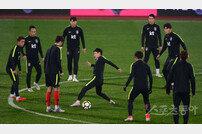 [포토] 축구대표팀 '파나마전도 멋진 승리를'