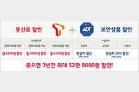 SKT ADT캡스 시너지 상품 출시