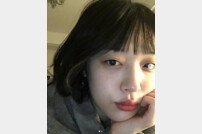 """""""버섯돌이""""…설리, 민낯도 예쁘다"""