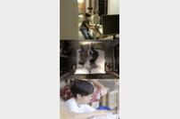 [DA:클립] '잠시만 빌리지' 김형규X김민재 부자, 독서광 인증샷 공개