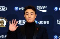 [포토] 손아섭 '골든글러브 최다 수상 가능성!'