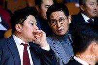 [포토] 김태형-염경엽 '미리 만나는 2019 한국시리즈(?)'