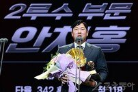 'GG 3회 수상' KIA 안치홍, 홍현우·박정태 2루수 계보 잇는다