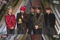 [2018 마마 홍콩] 방탄소년단 '아이돌', 베스트 뮤직비디오상 수상