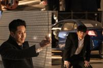 [DA:클립] '나쁜형사' 신하균vs김건우, 터널 안 카리스마 맞대결