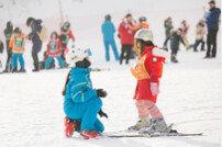 내 아이 첫 스키…'국가대표 출신 쌤'에게 맡겨요