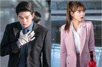 [DAY컷] '일뜨청' 윤균상♥김유정, 우산 허그 포착 '심쿵'