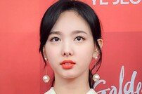 [포토] '골든디스크' 트와이스 나연 '초롱초롱한 눈망울'