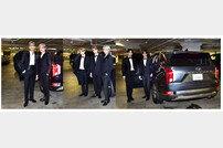방탄소년단, 현대차 팰리세이드 타고 美 그래미 어워즈 참석