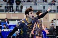 [포토] 김홍정 '내가 블로킹 해냈어'