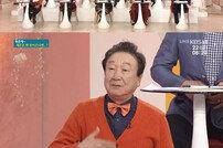 """[DA:리뷰] 윤문식 재혼 """"18세 연하 아내는 천사♥…뜨겁다"""""""
