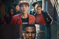 [DA:클립] 마이클잭슨 헌정앨범 첫 MV 공개…레이·NCT127, 서울 배경 강렬 퍼포먼스