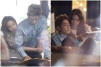 [DA:클립] '절대그이' 방민아×홍종현 로맨틱 백허그…은밀한 비밀 데이트